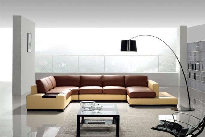 showroom ghế sofa chữ u